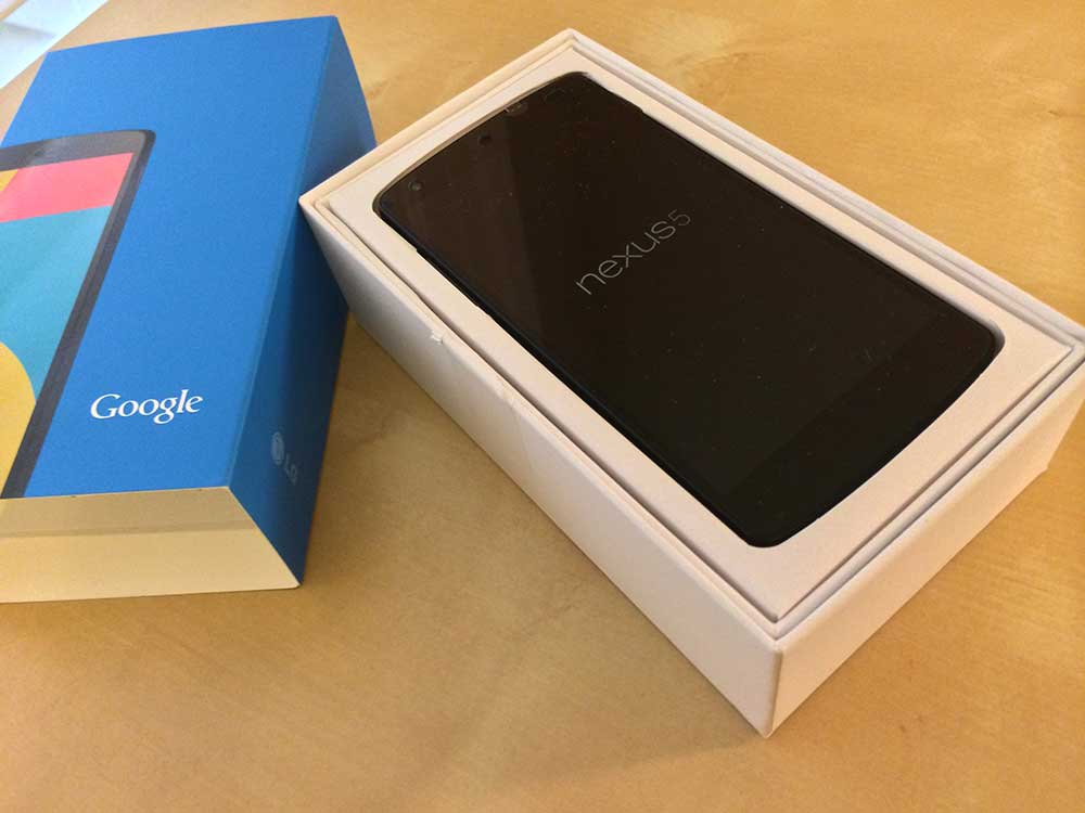 Nexus 5, brand-new in box!