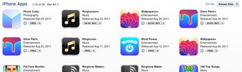 Ringtone Makers on the iTunes App Store
